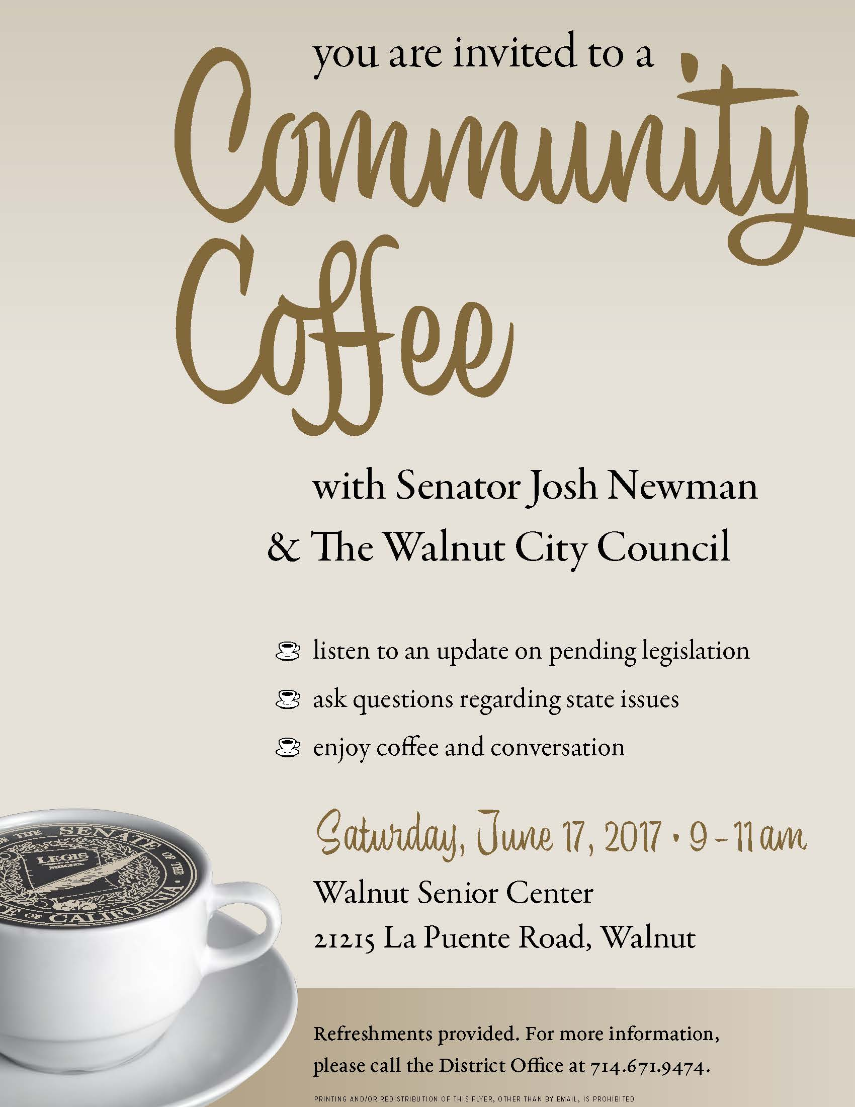 Senator Newman Coffee Walnut
