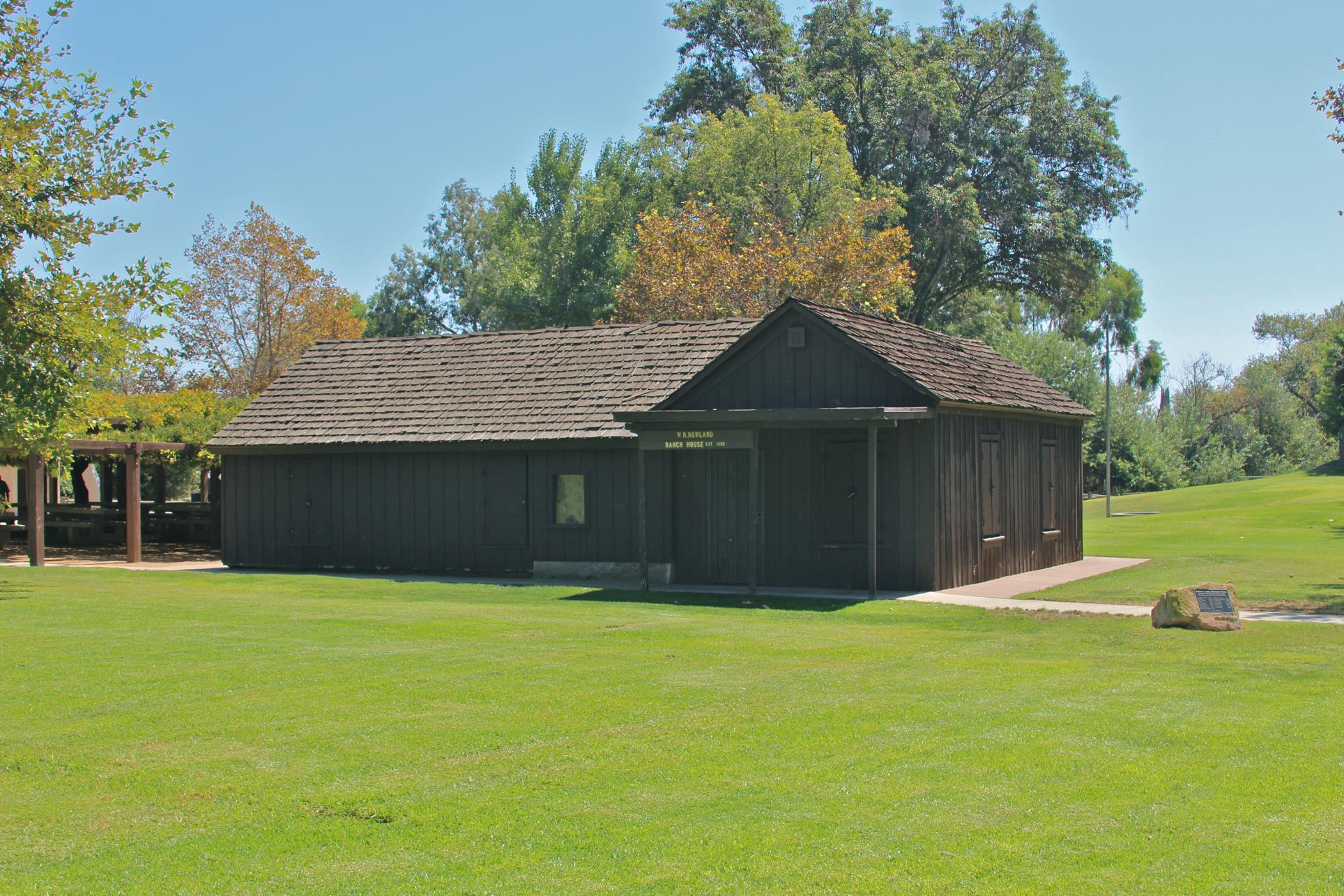 w r rowland adobe ranch house city of walnut ca